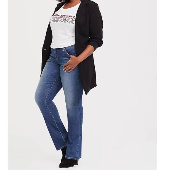 Torrid Slim Boot Vintage Stretch Jeans 16R NWT